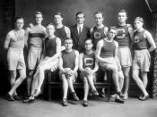 Georgetown varsity track team, ca. 1910