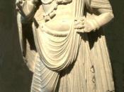 Prince Siddhartha Gautama (Gautama Buddha) with moustache