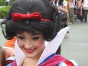 English: Snow White at Tokyo Disney Land