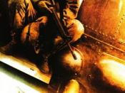 Film poster for Black Hawk Down - Copyright 2001, Columbia Pictures
