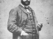 A 1882 photograph of Alfred Sisley (1839–1899), Impressionist painter.