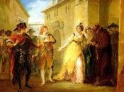 A Scene from Twelfth Night by William Shakespeare: Act V, Scene i