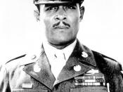Staff Sgt. Edward A. Carter Jr. The story below is a very good read honoring a true American hero. Medal of Honor: African-American hero recognized decades after brave act'