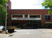 Tuality Community Hospital in Hillsboro, Oregon.