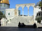 English: South-west qanatir, Temple Mount, Jerusalem, Israel.