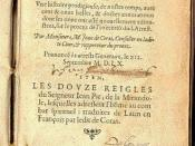 Title page of Arrest Memorable, an account of the case written by trial judge Jean de Coras in 1560 and published in 1565