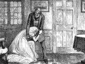 English: Miss Havisham and Pip, in an illustration for the Household Edition of Dickens's Great Expectations.
