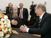 English: TROITSE-LYKOVO. With Aleksandr Solzhenitsyn. Русский: ТРОИЦЕ-ЛЫКОВО. С Александром Солженицыным.