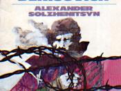 One Day in the Life of Ivan Denisovich by Aleksandr Solzhenitsyn. In contrast to such catchy book covers, the cover page of a genuine samizdat publication was typically made to look as inconspicuous as possible in order to avoid attention.