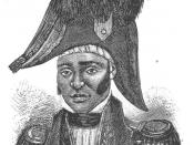 Jean Jacques Dessalines, leader of the Haitian Revolution and the first ruler of an independent Haiti