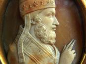 Pope Adrian IV Cameo