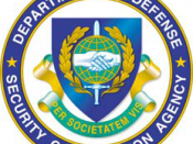 English: Seal of the Defense Security Cooperation Agency (DSCA), a defense agency of the U.S. Department of Defense