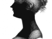 English: Silhouette of Cassandra Austen (1773-1845), sister of Jane Austen