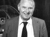 Hans Von Ohain. Lab Chief Scientist in the 70's. Inventor of the first jet engine.