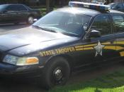 English: Oregon State Police car