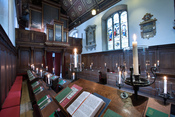 English: Gonville & Caius College Chapel, Cambridge