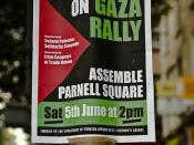 Signage And Posters - End The Siege On Gaza