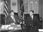 President John F. Kennedy and McNamara, 1962