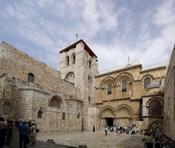 Jerusalem, Grabeskirche, Eingangsbereich