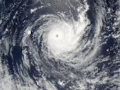 Tropical Cyclone Wilma off Fiji