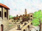 English: Ethring, a settlement in Gondor Česky: Ethring, město v Gondoru