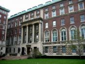 English: Columbia Journalism School building; photo by C. Szabla