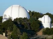 Astronomy lick observatory two domes california san jose
