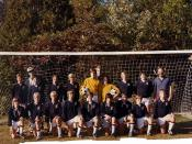 Fall 1980 Intermediate B Soccer Team.