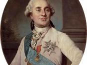 Louis XVI who reigned from 1774 to 1792. Vergennes was his most trusted minister. The King was executed in 1793 during the French Revolution.