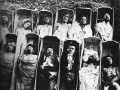 This photograph is usually presented as showing Communards killed in 1871.