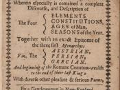 Second edition title page of Anne Bradstreet's poems