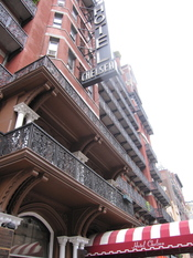 English: The Chelsea Hotel in New York City.