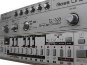 Beschreibung: Roland TB-303