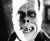 Lon Chaney as seen in The Phantom of the Opera, 1925.
