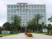 English: Tyco Fire & Security headquarters in . Several subsidiaries are headquartered in this building, including , , and .