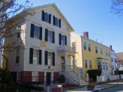English: Nathan and Mary (Polly) Johnson properties, where Frederick Douglass lived after escaping slavery.