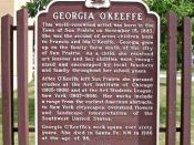 English: a sign commemorating birth of Georgia O'Keeffe, located next to Sun Prairie City Hall, 300 E, Main Street