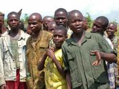 English: Former Child soldiers in eastern Democratic Republic of the Congo Deutsch: Ehemalige Kindersoldaten im Osten der Demokratischen Republik Kongo
