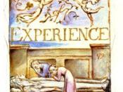 Blake's title plate (No.29) for Songs of Experience