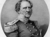 Gravering af general Winfield Scott