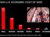 HIGH ECONOMIC COST OF U.S. WARS