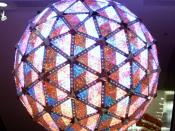 This is apparently the actual ball which will drop in Times Square signifying the start of 2008.