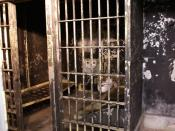 Old Noblesville jail - once home to Charles Manson