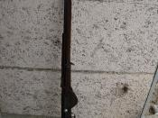 English: French semi automatic rifle model of 1917, aka FSA 1917, RSC 1917. The first semi automatic rifle that entered service on a large scale as general issue infantry rifle to replace the bolt action rifle at the end of WWI