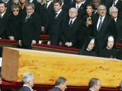 Português: Funeral do papa João Paulo II.