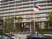 English: ExxonMobil Building, ExxonMobil offices in Downtown Houston