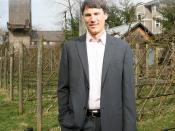 Gregor Robertson, Founder of Happy Planet