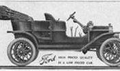 1908 Ford Model T ad from Oct. 1, 1908 Life magazine