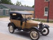 English: Picture of non-black 1927 Model T at Greenfield Village