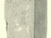 Pillar in Seti I's tomb